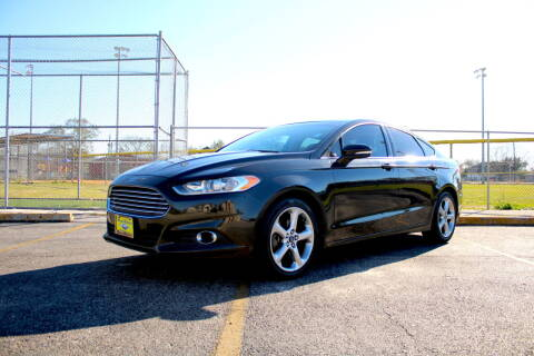 2013 Ford Fusion for sale at MEGA MOTORS in South Houston TX