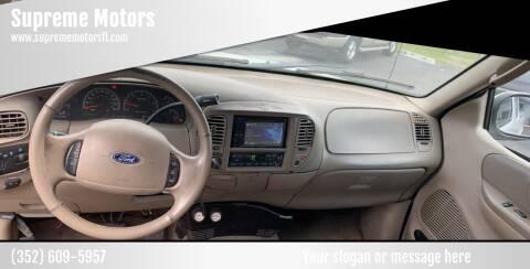 2003 Ford F-150 for sale at Supreme Motors in Tavares FL