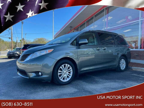 2014 Toyota Sienna for sale at USA Motor Sport inc in Marlborough MA