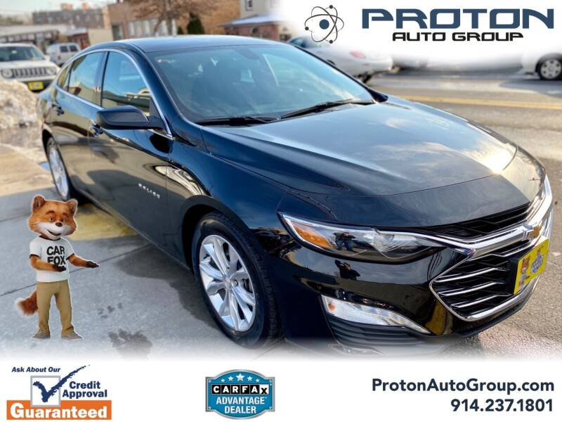 2019 Chevrolet Malibu for sale at Proton Auto Group in Yonkers NY