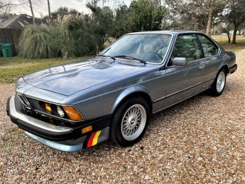1987 BMW 6 Series for sale at SARCO ENTERPRISE inc in Houston TX