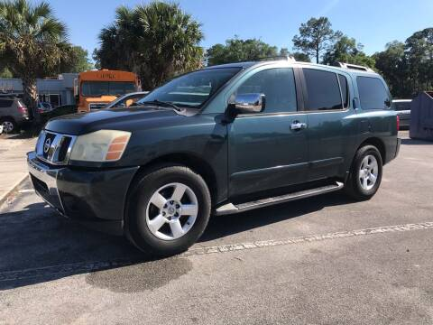 2004 Nissan Armada for sale at Popular Imports Auto Sales in Gainesville FL