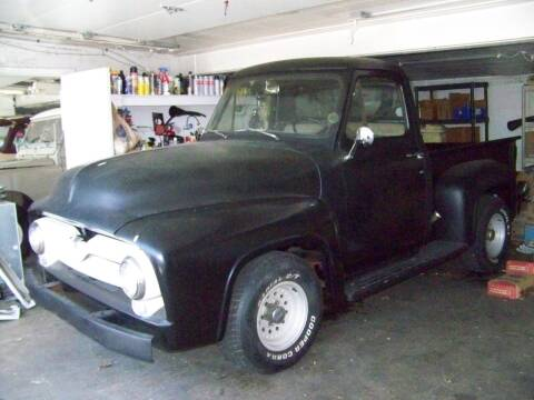 1955 Ford F-100 for sale at Collector Car Co in Zanesville OH