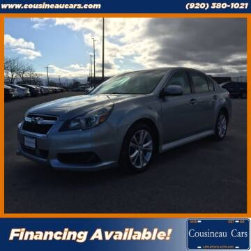 2014 Subaru Legacy for sale at CousineauCars.com in Appleton WI