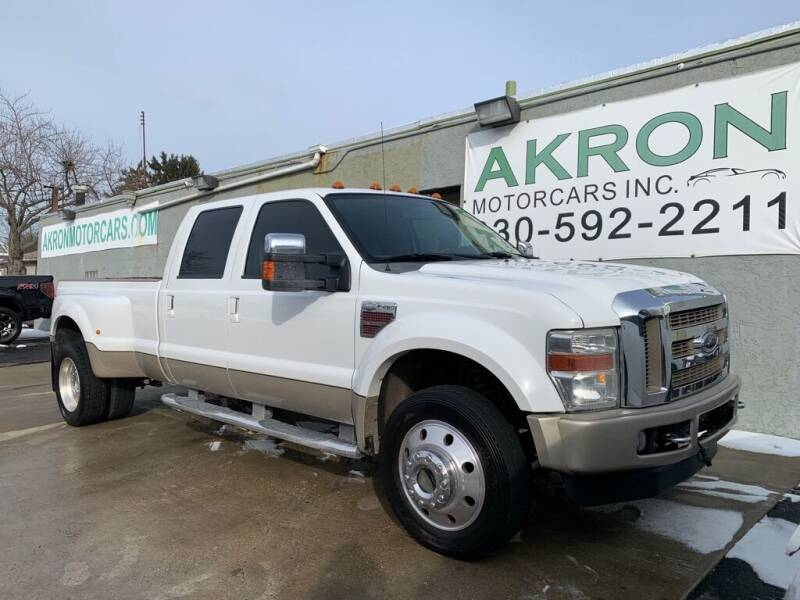 2008 Ford F-450 Super Duty for sale at Akron Motorcars Inc. in Akron OH
