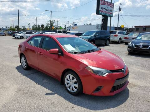 2015 Toyota Corolla for sale at Jamrock Auto Sales of Panama City in Panama City FL