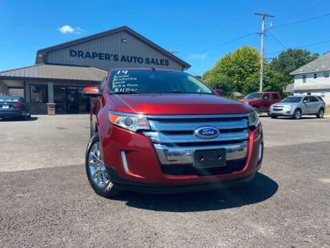 2014 Ford Edge for sale at Drapers Auto Sales in Peru IN