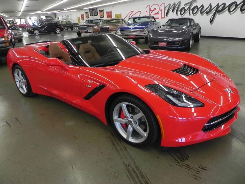 2014 Chevrolet Corvette for sale at 121 Motorsports in Mount Zion IL