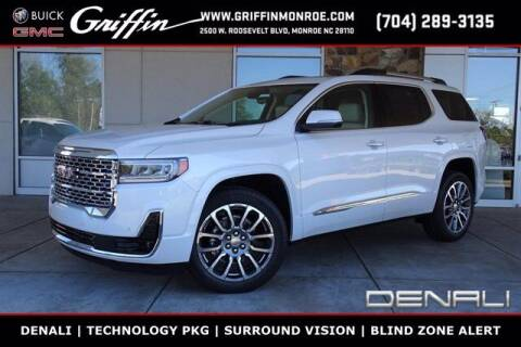 2021 GMC Acadia for sale at Griffin Buick GMC in Monroe NC