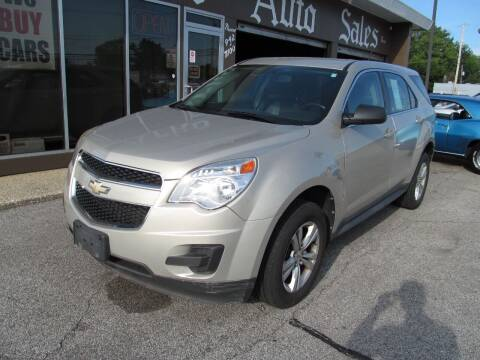 2011 Chevrolet Equinox for sale at Arko Auto Sales in Eastlake OH