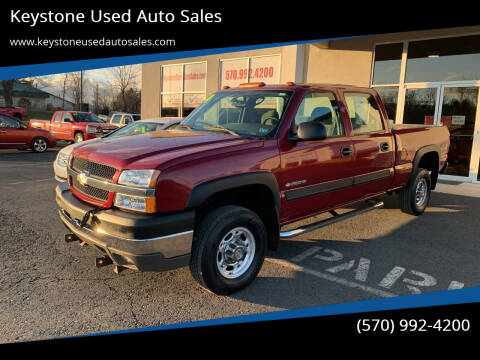2004 Chevrolet Silverado 2500HD for sale at Keystone Used Auto Sales in Brodheadsville PA