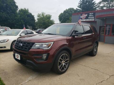 2016 Ford Explorer for sale at Stach Auto in Janesville WI
