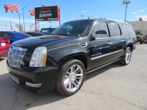 2011 Cadillac Escalade ESV for sale at Moving Rides in El Paso TX