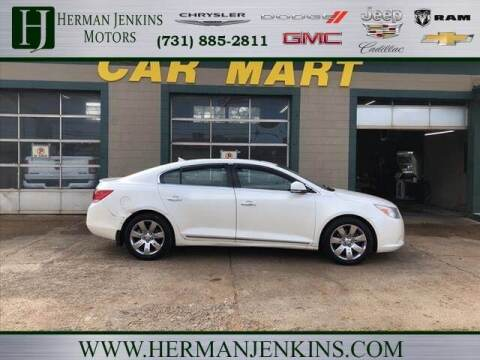 2011 Buick LaCrosse for sale at Herman Jenkins Used Cars in Union City TN