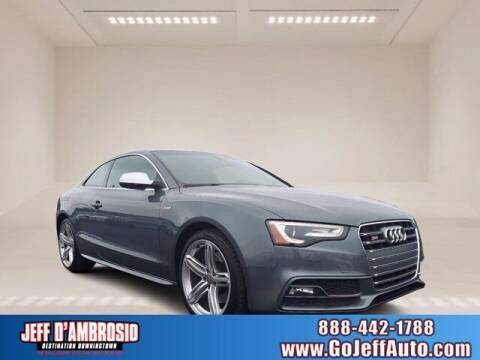 2014 Audi S5 for sale at Jeff D'Ambrosio Auto Group in Downingtown PA