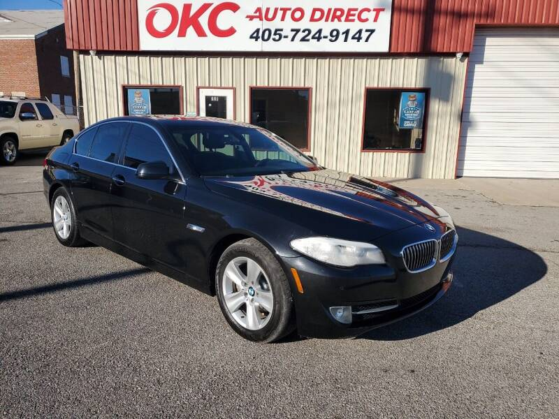 2012 BMW 5 Series for sale at OKC Auto Direct in Oklahoma City OK