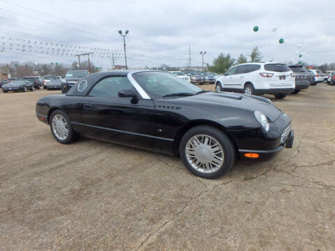 2003 Ford Thunderbird for sale at BLACKWELL MOTORS INC in Farmington MO