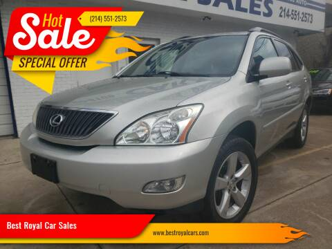 2004 Lexus RX 330 for sale at Best Royal Car Sales in Dallas TX