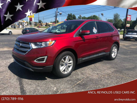 2016 Ford Edge for sale at Ancil Reynolds Used Cars Inc. in Campbellsville KY