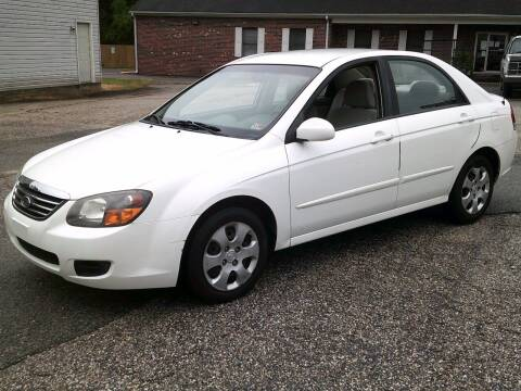 2009 Kia Spectra for sale at Wamsley's Auto Sales in Colonial Heights VA