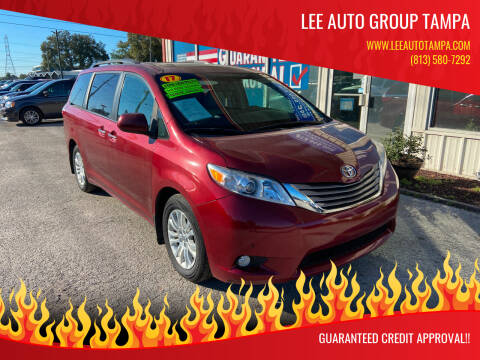 2017 Toyota Sienna for sale at Lee Auto Group Tampa in Tampa FL