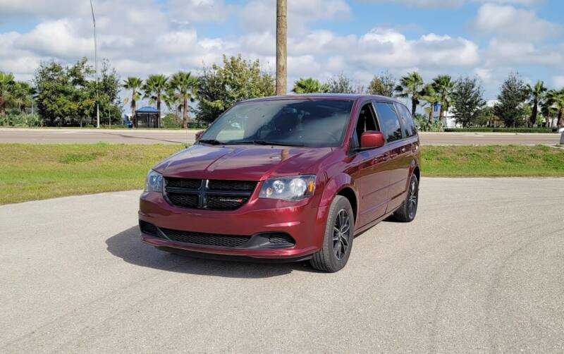 2017 Dodge Grand Caravan for sale at FLORIDA USED CARS INC in Fort Myers FL