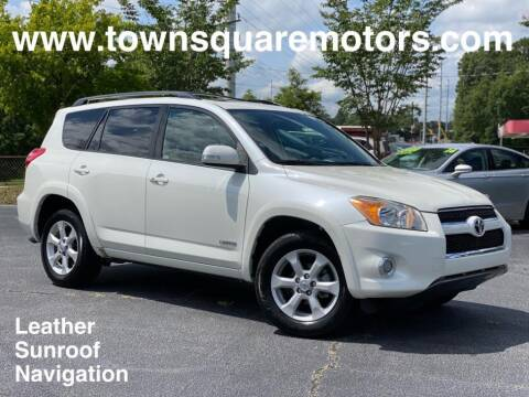 2010 Toyota RAV4 for sale at Town Square Motors in Lawrenceville GA