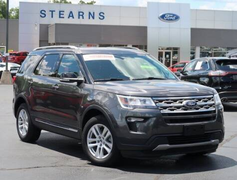 2018 Ford Explorer for sale at Stearns Ford in Burlington NC