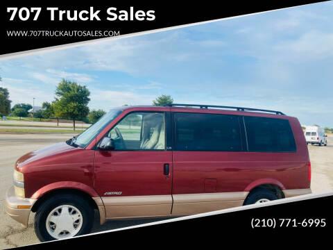 1998 Chevrolet Astro for sale at 707 Truck Sales in San Antonio TX