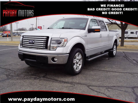 2013 Ford F-150 for sale at Payday Motors in Wichita And Topeka KS