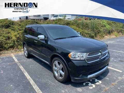 2011 Dodge Durango for sale at Herndon Chevrolet in Lexington SC