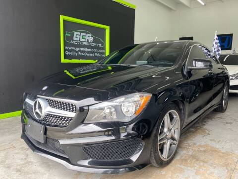 2015 Mercedes-Benz CLA for sale at GCR MOTORSPORTS in Hollywood FL