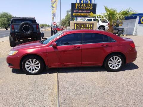 2011 Chrysler 200 for sale at 1ST AUTO & MARINE in Apache Junction AZ