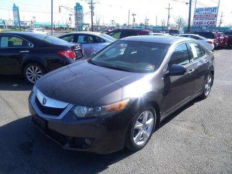 2010 Acura TSX for sale at Wilson Investments LLC in Ewing NJ
