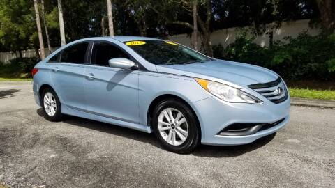 2014 Hyundai Sonata for sale at DELRAY AUTO MALL in Delray Beach FL