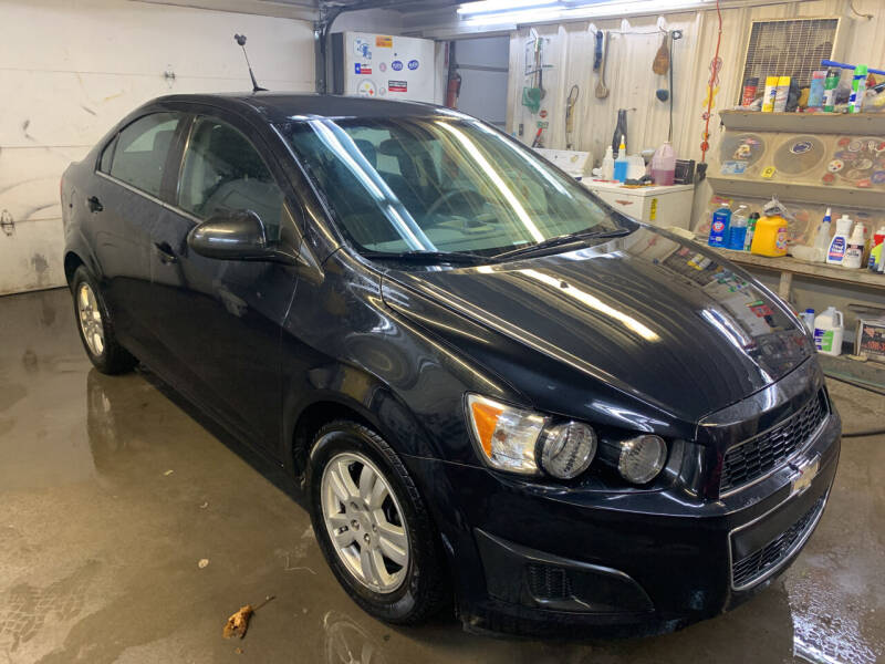 2013 Chevrolet Sonic for sale at BURNWORTH AUTO INC in Windber PA