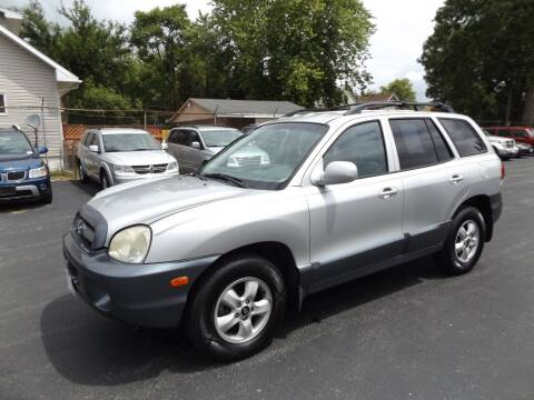 2005 Hyundai Santa Fe for sale at Goodman Auto Sales in Lima OH