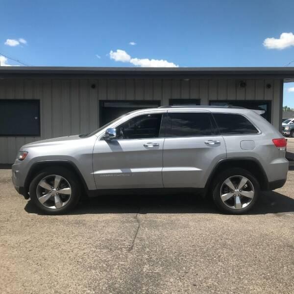 2014 Jeep Grand Cherokee for sale at STEVE'S AUTO SALES INC in Scottsbluff NE