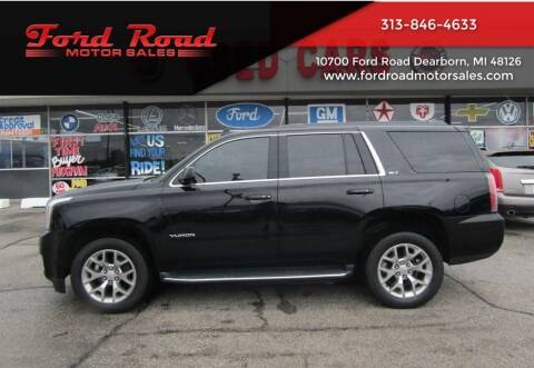 2016 GMC Yukon for sale at Ford Road Motor Sales in Dearborn MI