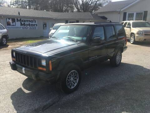 1998 Jeep Cherokee for sale at Mama's Motors in Greer SC