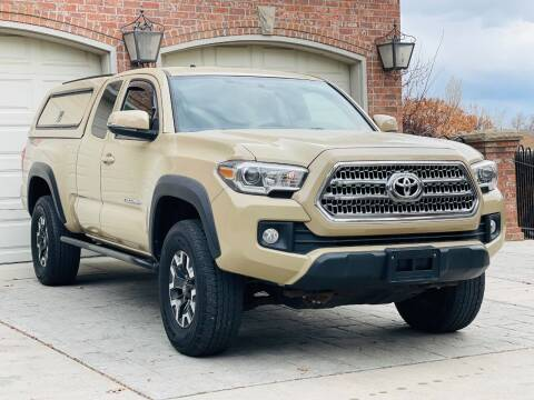 2017 Toyota Tacoma for sale at Avanesyan Motors in Orem UT
