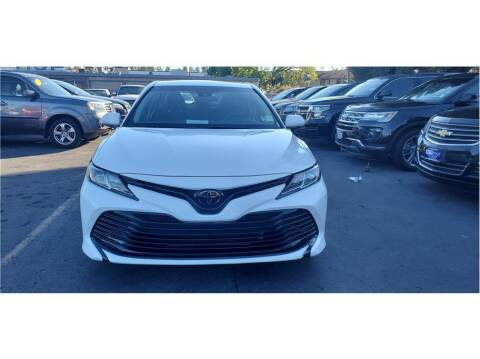 2018 Toyota Camry for sale at AutoDeals in Daly City CA
