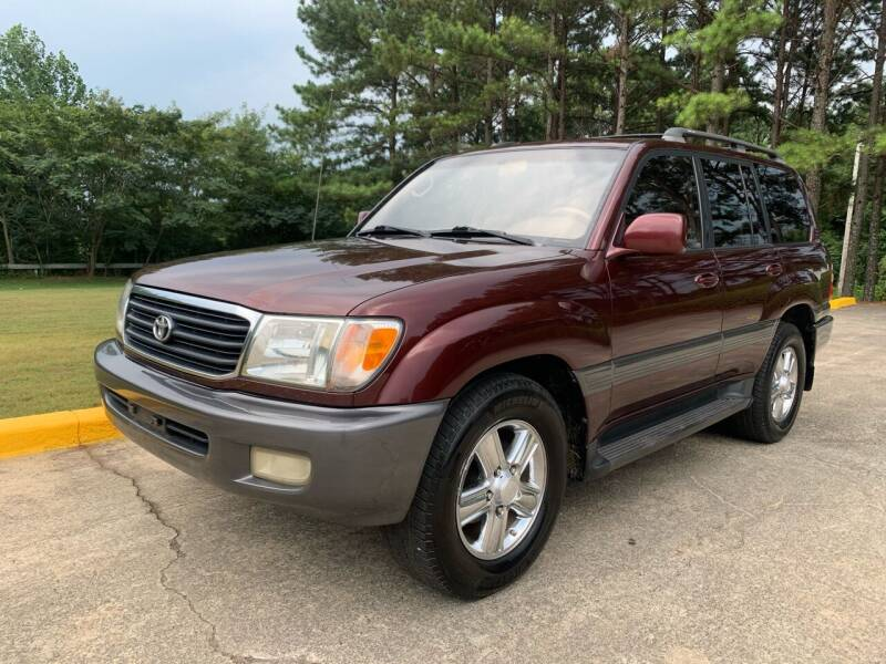 1999 Toyota Land Cruiser for sale at Selective Imports in Woodstock GA