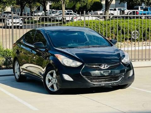 2013 Hyundai Elantra for sale at Texas Drive Auto in Dallas TX