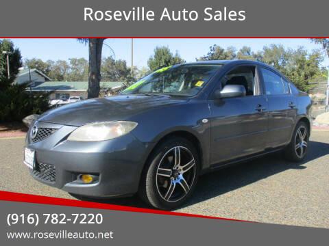 2009 Mazda MAZDA3 for sale at Roseville Auto Sales in Roseville CA