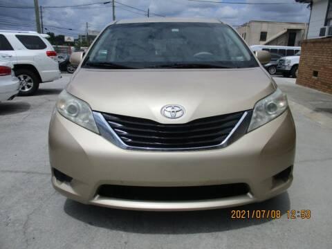 2012 Toyota Sienna for sale at Atlantic Motors in Chamblee GA