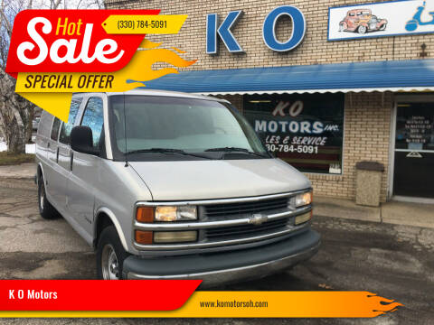 1998 Chevrolet Chevy Van for sale at K O Motors in Akron OH