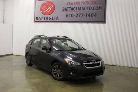 2013 Subaru Impreza for sale at Battaglia Auto Sales in Plymouth Meeting PA