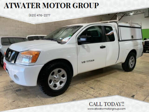 2015 Nissan Titan for sale at Atwater Motor Group in Phoenix AZ