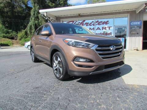 2016 Hyundai Tucson for sale at Hibriten Auto Mart in Lenoir NC